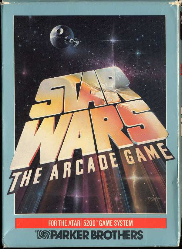 Star Wars - The Arcade Game (1983) (Parker Bros) Box Scan - Front