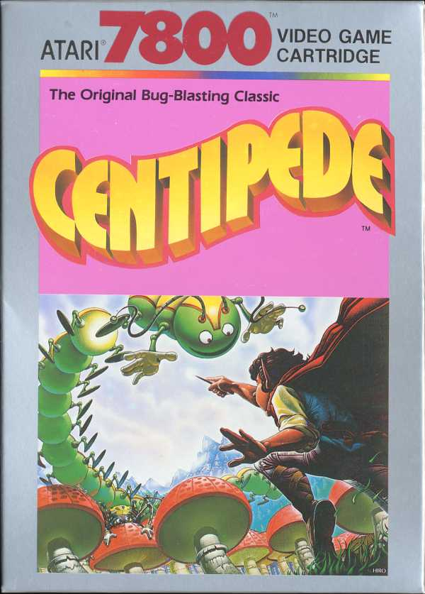 Centipede Box Scan - Front