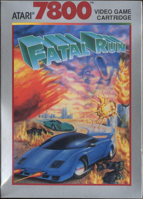 Fatal Run Box Scan - Front