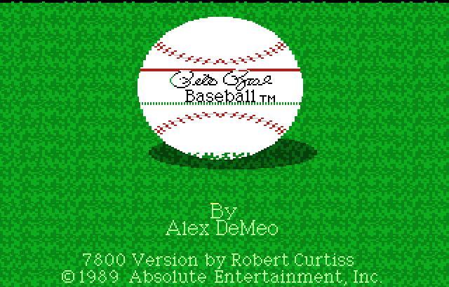 Pete Rose Baseball Screenshot