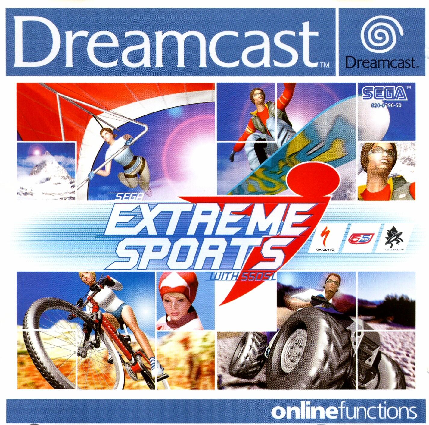 Extreme Sports: Sega Extreme Sports (PAL) ISO