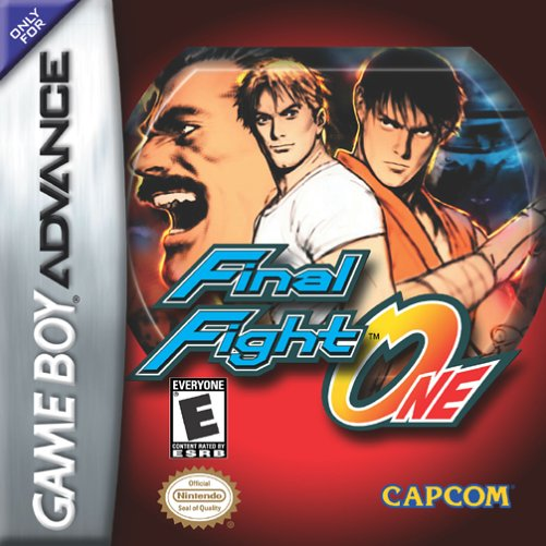 Final Fight One (U)(Mode7) Box Art