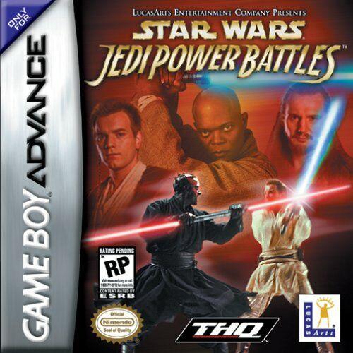 Star Wars - Jedi Power Battles (U)(Eurasia) Box Art