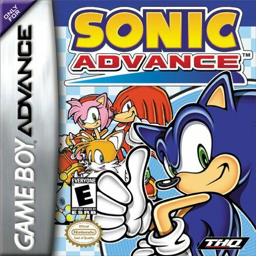 Sonic advance u lord moyne box art