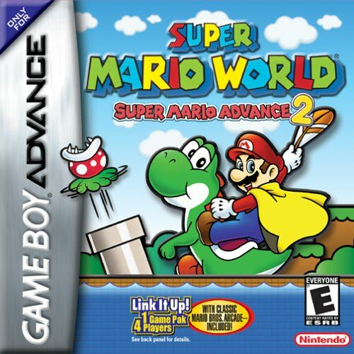 Super Mario World - Super Mario Advance 2 (U)(Mode7) Box Art