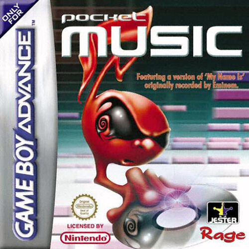 Pocket Music (E)(Venom) Box Art