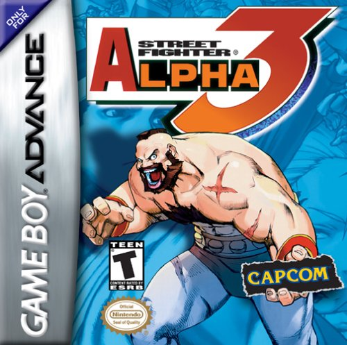 Street Fighter Alpha 3 (U)(Independent) Box Art