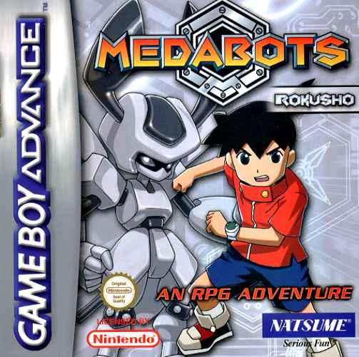 Medabots - Rokusho Version (E)(GBATemp) Box Art