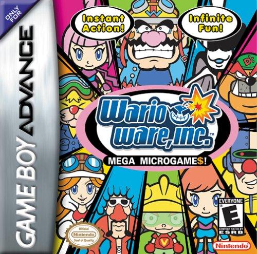 Juegos De Gba En Espa 241 Ol Wario Ware Inc Minigame Maniac