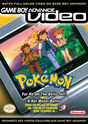 Pokemon Volume 1 - Gameboy Advance Video (U)(Rising Sun) Box Art