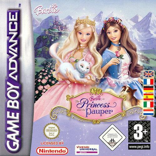 Nintendo Gameboy Advance ROMs Barbie as the Princess and Pauper (E)(Rising Sun)