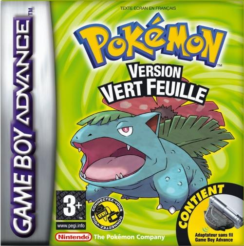 Pokemon Vert Feuille (F)(Rising Sun) Box Art
