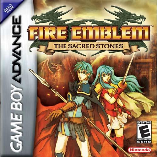 Fire Emblem - The Sacred Stones (U)(TrashMan) Box Art