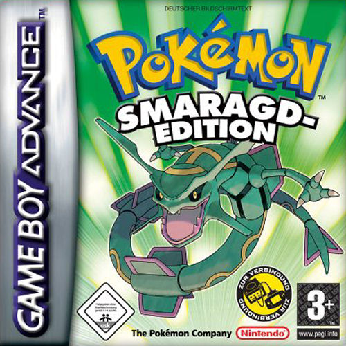 Pokemon Smaragd Edition (G)(Rising Sun) Box Art
