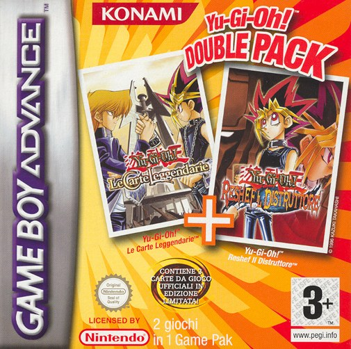 2 in 1 - Yu-Gi-Oh! Double Pack (E)(sUppLeX) Box Art
