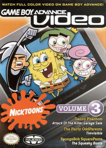 Nicktoons Volume 3 - Gameboy Advance Video (U)(Sir VG) Box Art