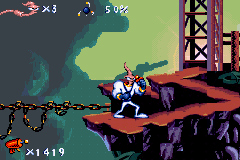 Earthworm Jim (U)(Mode7) Snapshot