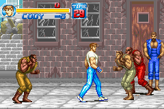 Final Fight One (U)(Mode7) Snapshot