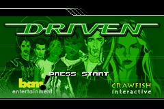 Driven (U)(Mode7) Title Screen