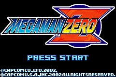 MegaMan Zero (U)(Venom) Title Screen