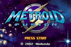 Metroid - Fusion (U)(GBANow) Title Screen