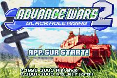 Advance Wars 2 - Black Hole Rising (E)(Surplus) Title Screen