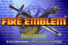 Fire Emblem (U)(Venom) Title Screen