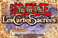 Yu-Gi-Oh! - The Sacred Cards (E)(Rising Sun) Title Screen