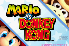 Mario Vs. Donkey Kong (U)(Venom) Title Screen