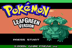 Pokémon leaf green rom
