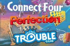 Connect Four, Perfection, Trouble (U)(Trashman) Title Screen