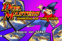 Duel Masters - Shadow Of The Code (E)(Rising Sun) Title Screen