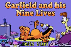 Garfield and His Nine Lives (U)(Trashman) Title Screen