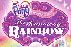 My Little Pony Crystal Princess - The Runaway Rainbow (U)(Rising Sun) Title Screen
