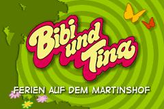Bibi und Tina - Ferien auf dem Martinshof (G)(Rising Sun) Title Screen