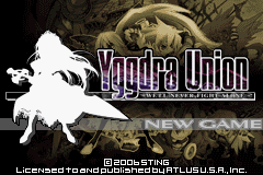 Yggdra Union - We'll Never Fight Alone (U)(Rising Sun) Title Screen