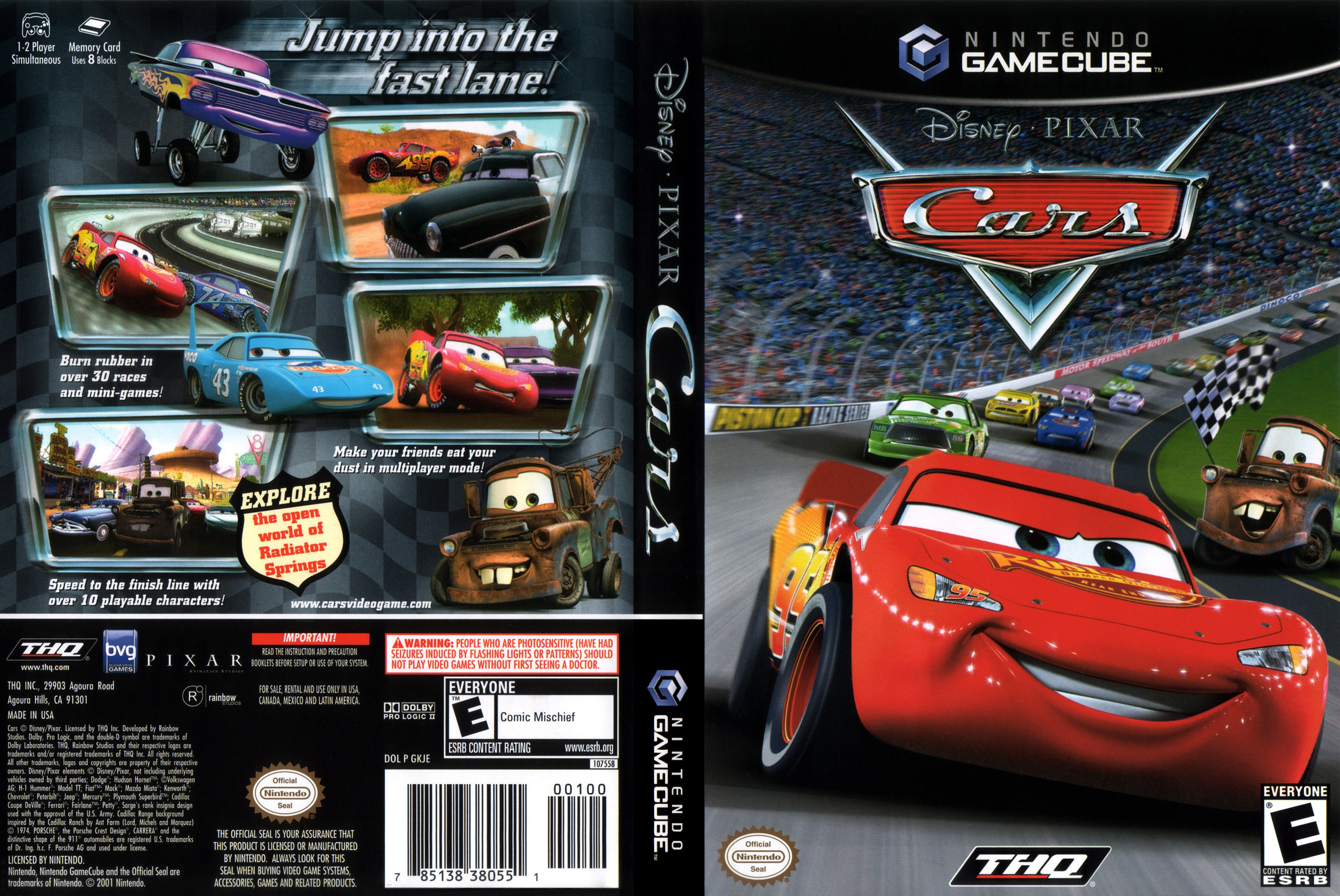 Cars Game: Cars ISO