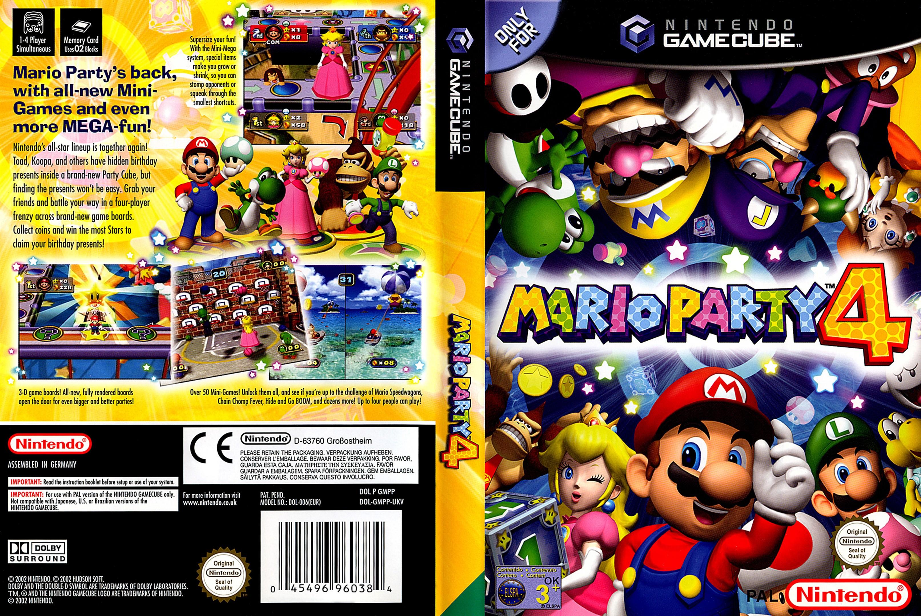Games de GC convertidos para Wii U Mario%20Party%204