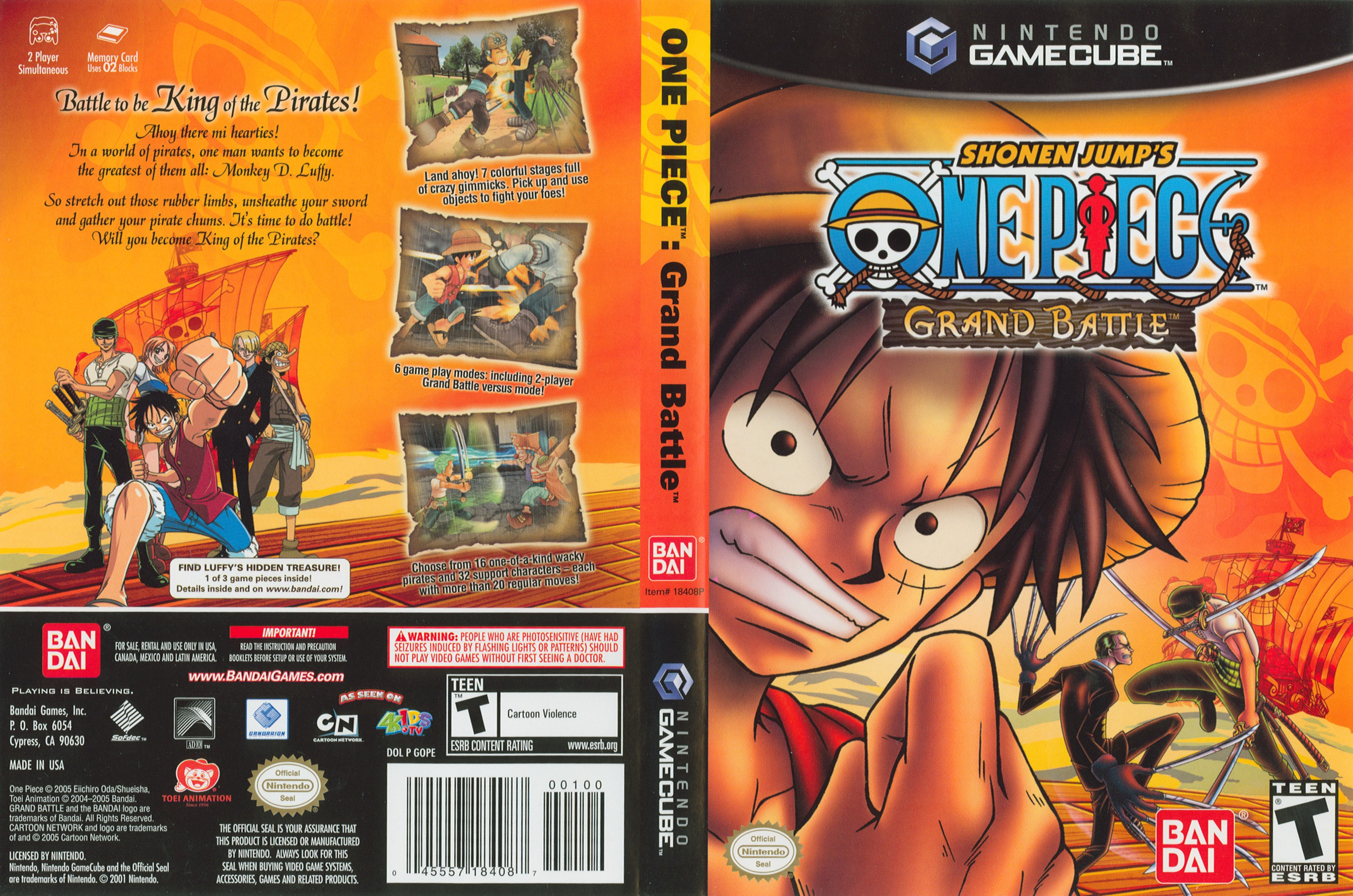 one piece grand battle cover
