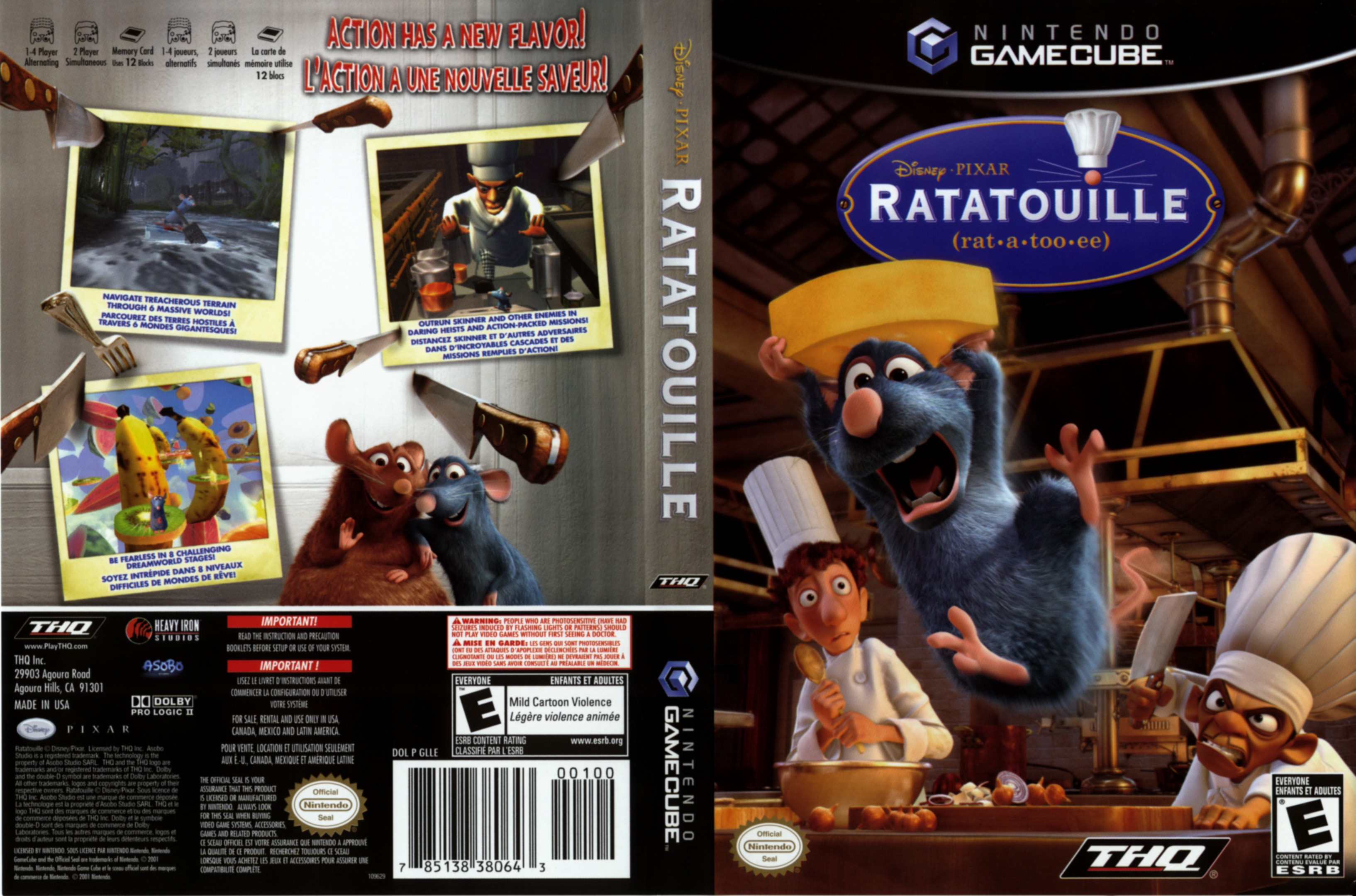 ratatouille pc startimes