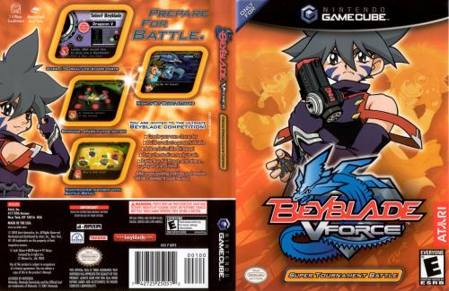 Beyblade V Force Cover - Click for full size image