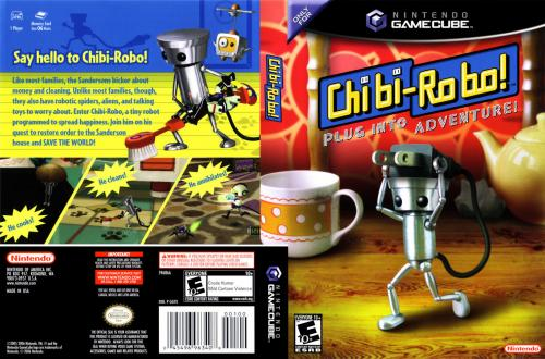 Chibi Robo Cover - Click for full size image