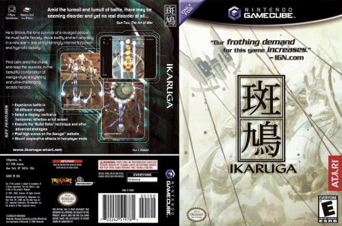 Ikaruga Cover - Click for full size image