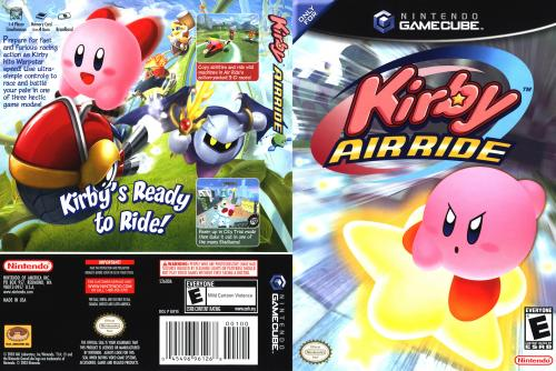 Kirby Air Ride Cover - Click for full size image