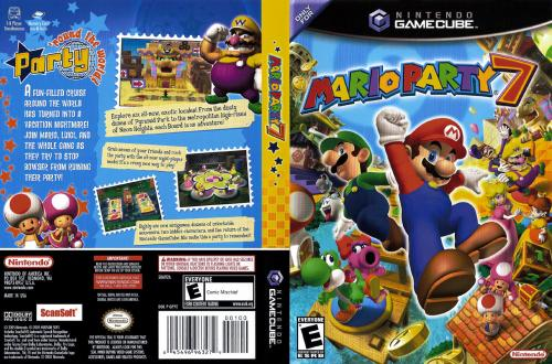 Mario Party 7 Cover - Click for full size image