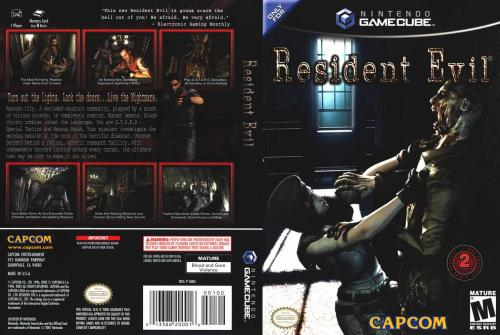 Resident Evil (Disc 1) Cover - Click for full size image