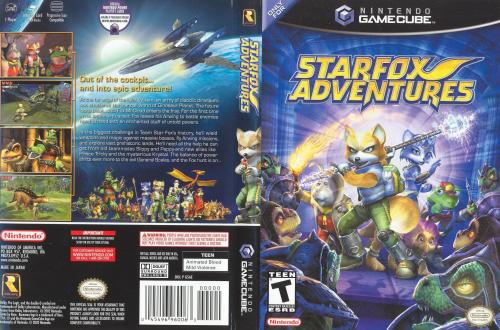 Star Fox Adventures Cover - Click for full size image