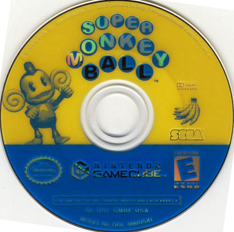 Gamecube Monkey Ball Super Monkey Ball Disc Scan