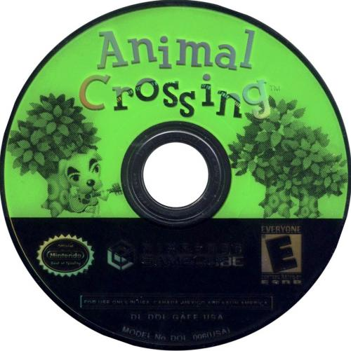 Animal Crossing Disc Scan - Click for full size image