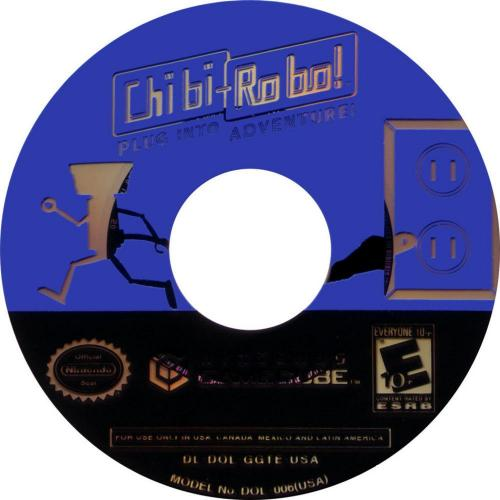 Chibi Robo Disc Scan - Click for full size image